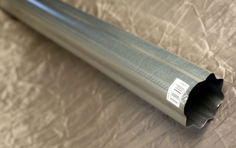 Galvanized Downspout Corrugated (L2063)