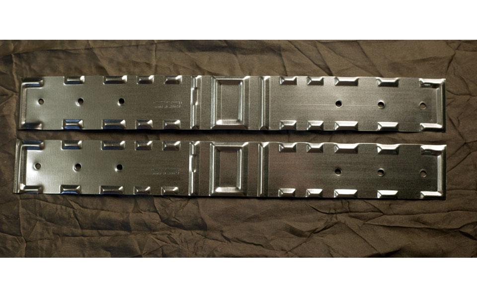 Galvanized Pipe Strap (L2077)