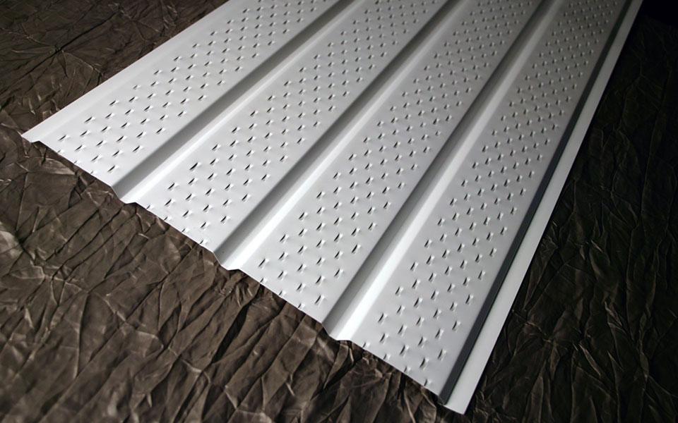 4-Panel Regular Gauge Aluminum Soffit (4 Panel Aluminum Soffit)