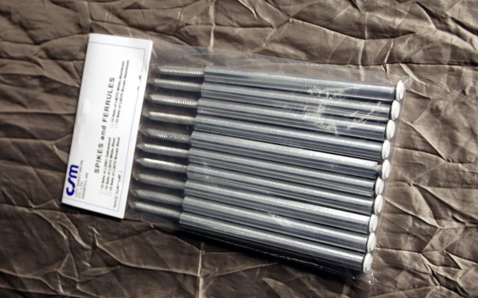 Aluminum Spikes & Ferrules (L9075)