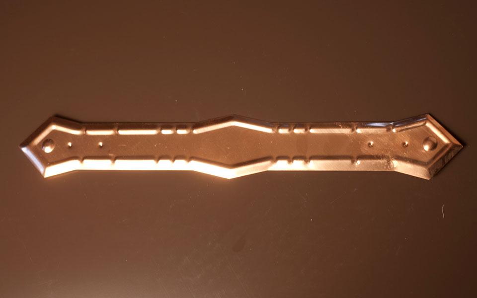 Copper Pipe Strap (C377)