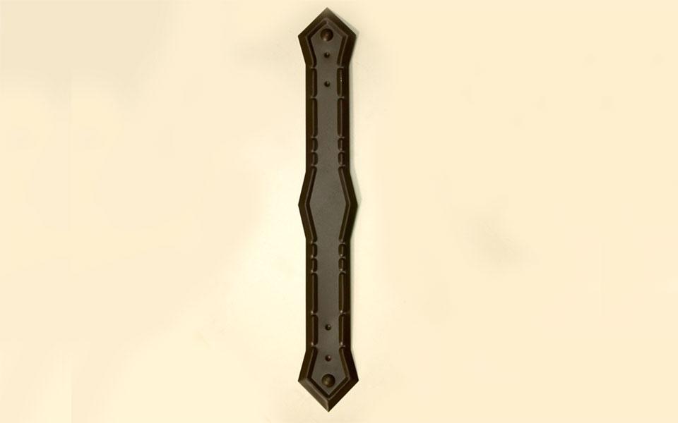 Aluminum Fancy Pipe Strap