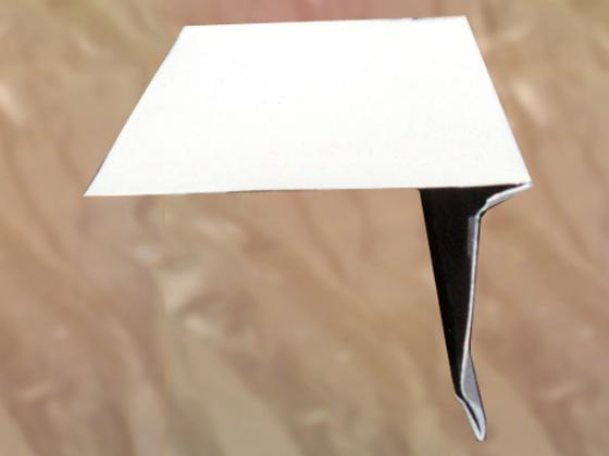 Aluminum Roof Edge-10' Trim (Roof Edge)